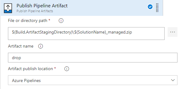Azure DevOps ALM Process - Publish Pipeline Artifact