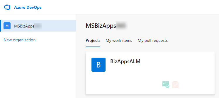 Azure DevOps ALM Process - New Project