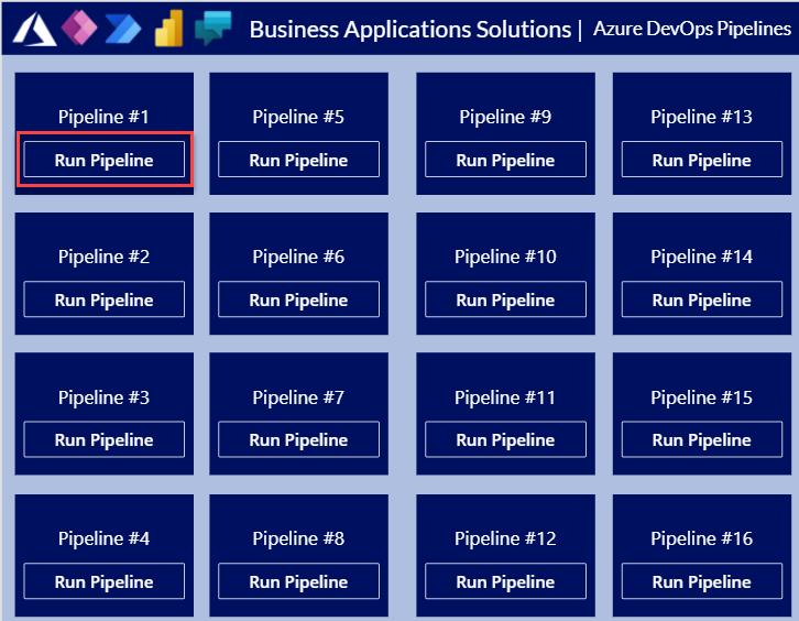 Azure DevOps Pipelines - Cloud Flow - Canvas App Execution