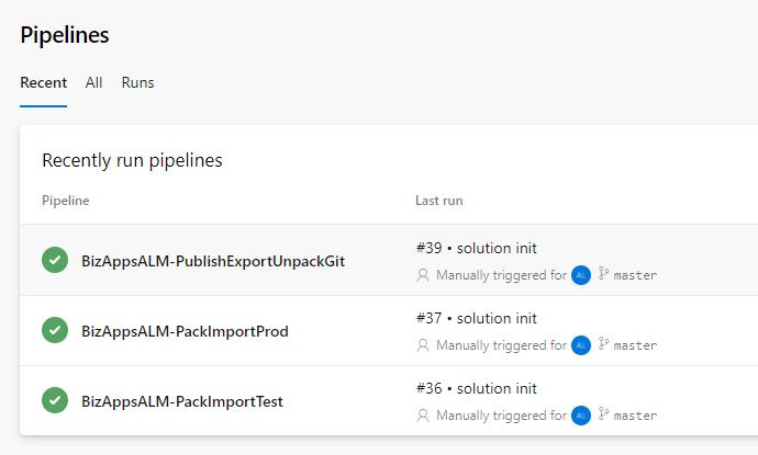 Azure DevOps Pipeline - Cloud Flow - Pipeline View
