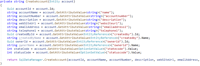Azure Service Bus Listener Create Account