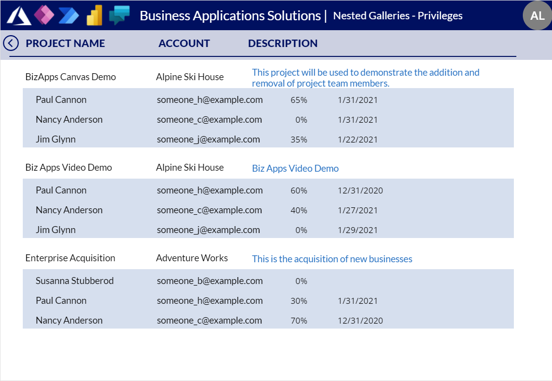 Canvas App Dataverse Privilege - Full Access