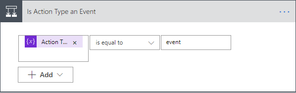Eventbrite Integration - Event Flow Condition Action Type = Event?