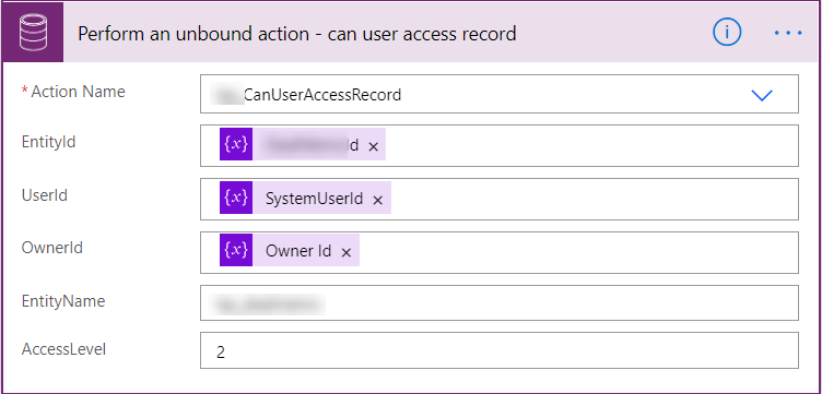 Embedded Canvas App - Power Automate Flow calling Custom Action