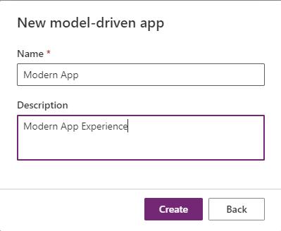 Modern App Preview - Enter App Name