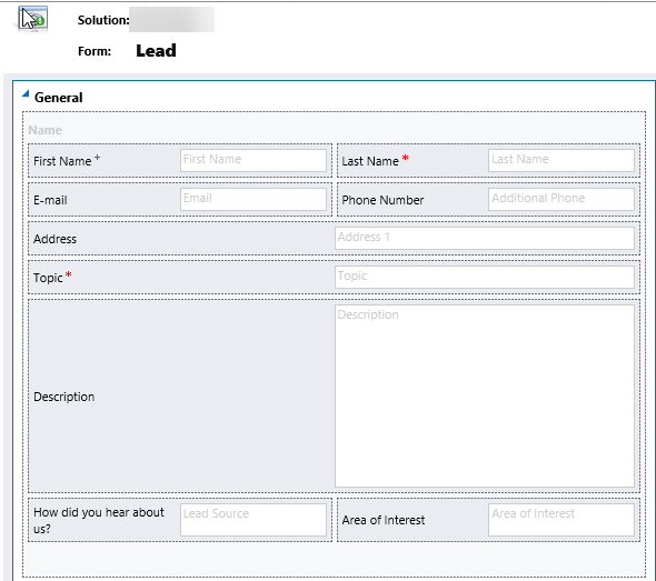 Contact Us Lead Form