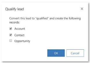 Qualify Lead (Dynamics 365 - 2019 Wave 2)