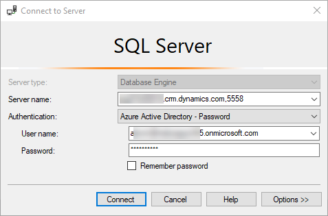 T-SQL Endpoint - SSMS Connect to Server