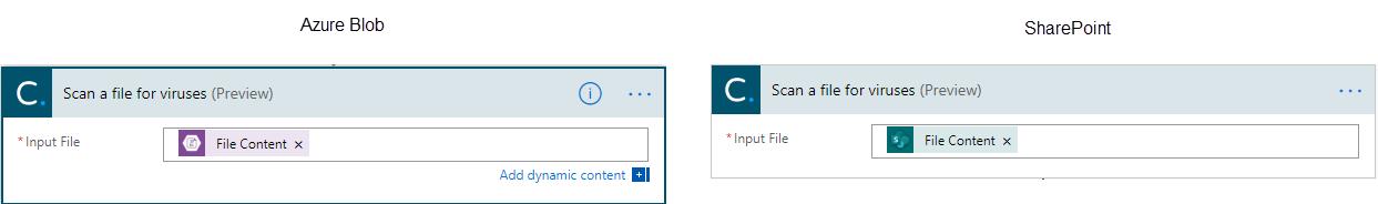 Virus Scan Solution - Scanning via ISV Connector