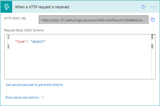 Dataverse Web Hook - Cloud Flows - HTTP Request is Received
