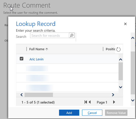 Creating Web Resource with a Lookup Control · BGBS Portal
